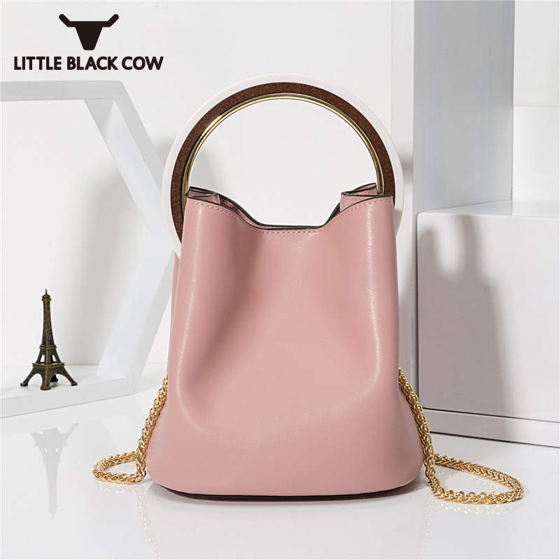 2018 New Arrival Luxury Leather Handbag Fashion Korean Solid Womens Chain Bags Elegant Party Handbag Crossbody Bags For Women micocah new arrival women handbag 2018 cute solid color women purse crossbody bags green lcs089