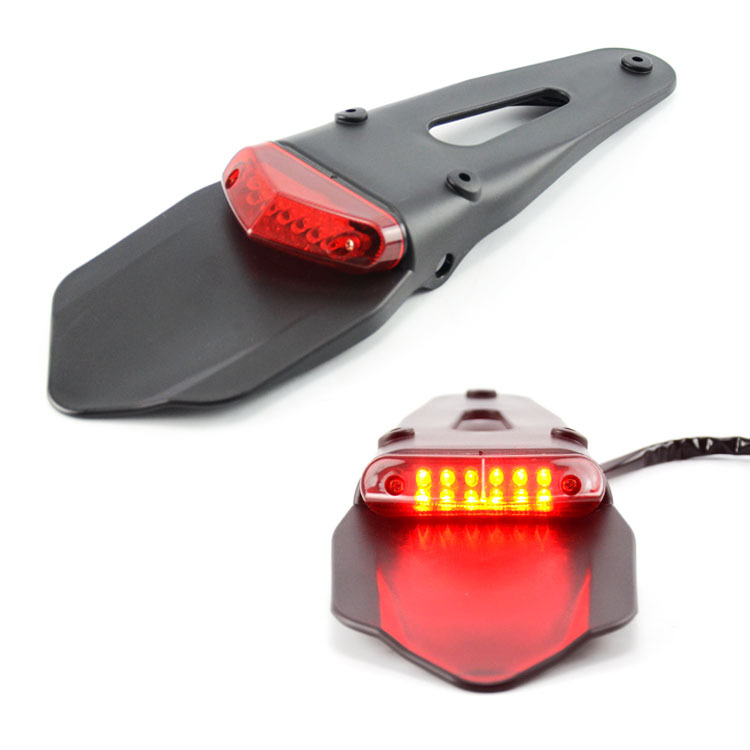 Motorcycle LED Tail Light&Rear Fender Stop Enduro Taillight MX Trail Supermoto FOR KTM CR EXC WRF 250 400 426 450
