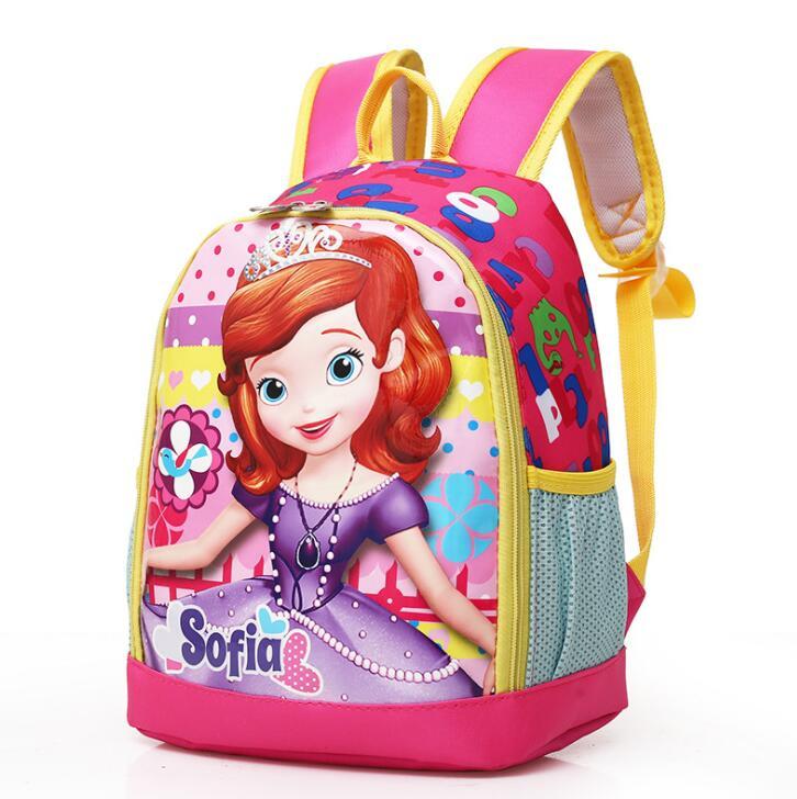 Новый София школьная сумка принцесса дети мешок дети рюкзак детский сад рюкзак/ребенок школьные сумки/Сумка для мальчиков и девочек