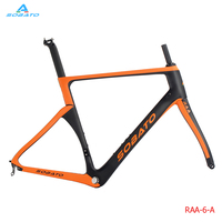 Accept Custom Painting 2016 New Arrival DIY 700C Aero Road Bike Frame Super Light Weight Carbon