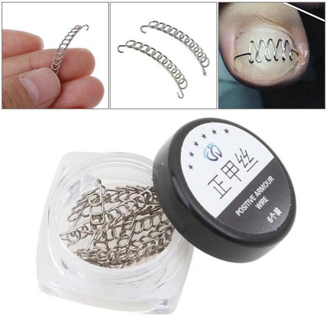 New 12pcs/box Fashion Toe Nail Correction Wire Fixer Pedicure Paronychia Recover Toenails Corrector Foot Care Pedicure Tools