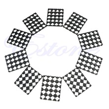 10Pcs 4x5 Cell Spacer 18650 Battery Radiating Shell Pack Plastic Heat Holder(China (Mainland))