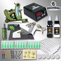 Newest Shading Machine CompleteTattoo Kit Inks Power Free Gift Tattoo Supplies