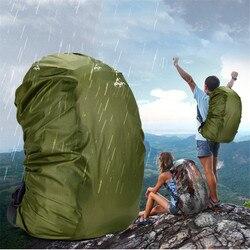 1 шт. нейлоновый армейский зеленый Камуфляжный непромокаемый чехол, 35-80 л, легкий Водонепроницаемый рюкзак, сумка для дождя, дорожная сумка