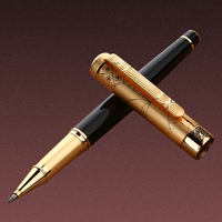 1pcs Lot Picasso Roller Ball Pen 902 Pimio Picasso Roller Pens Gold Clip Luxury Brand Canetas