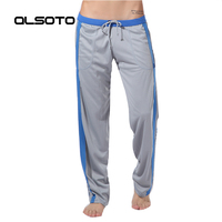 Man Running Trousers Solid Color Quick Drying Sports Breathable Joggers Gym Fitness Crossfit Training Athletic Loose