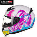 2016 New arrive motorcycle helmet high quality 12208678face off road racing helmet LS2 casco moto capacete LS2 FF352