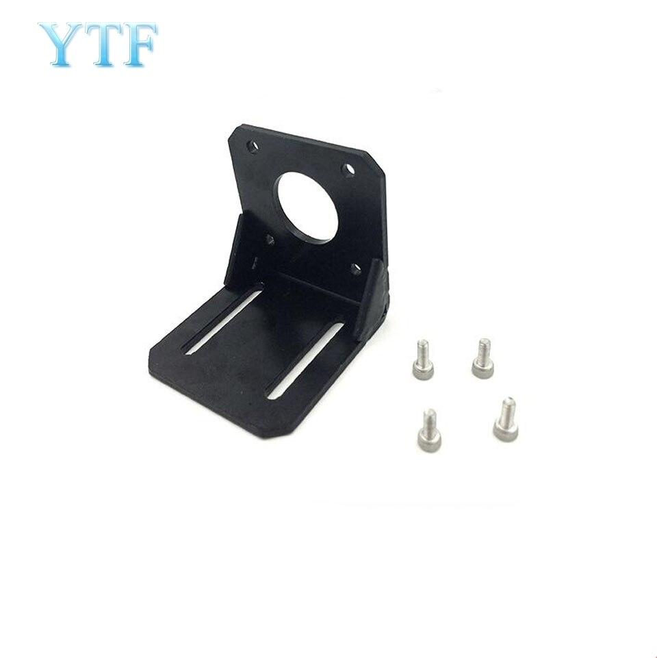 1PCS 3D Pinter Parts NEMA 17 Alloy Steel L Bracket Mount