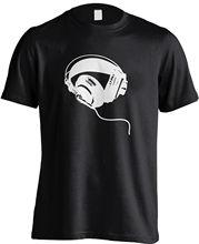 Headphone , Music,Dj Gift T-SHIRT Novelty, funny, slogan t shirts. RT768V