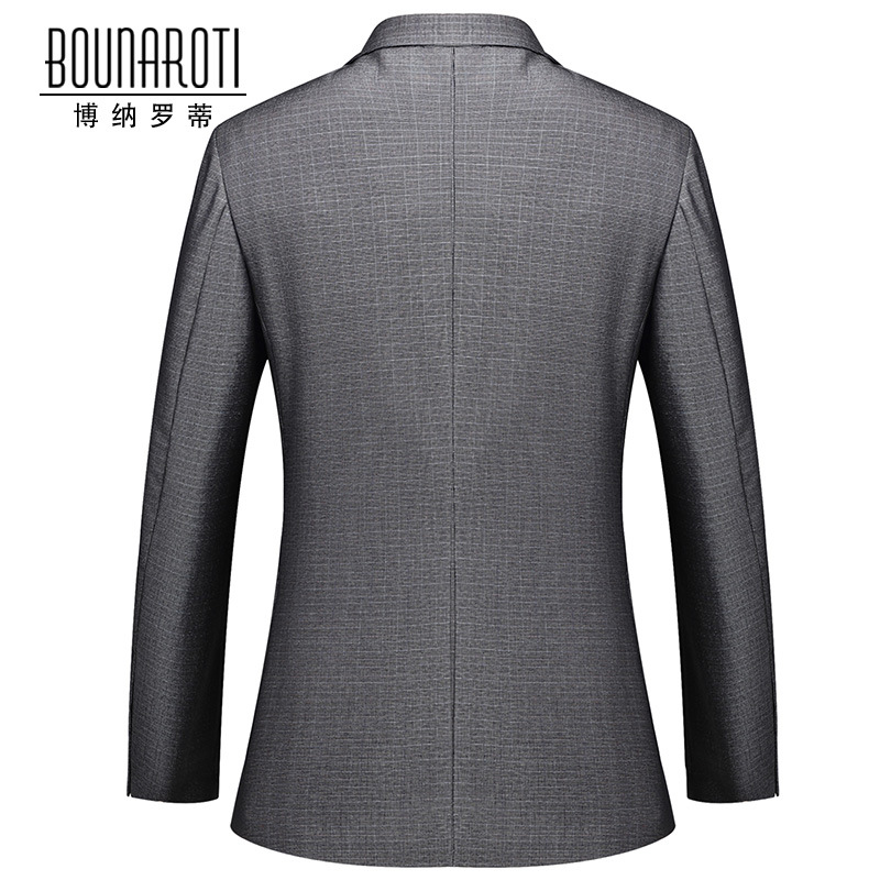 7dc8960aba6 Jacket + pants 2017 spring men s new suit slim fit business casual dress  suit 2 buttons male occupation wedding dress for men.-in Suits from Men s  Clothing ...