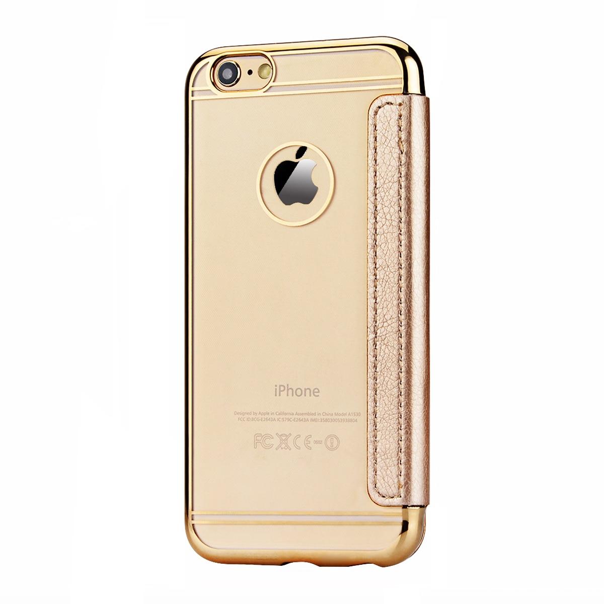 Funda de cuero PU de lujo para iPhone 5 5s SE 6 6s 7 Plus Funda para - Accesorios y repuestos para celulares - foto 6