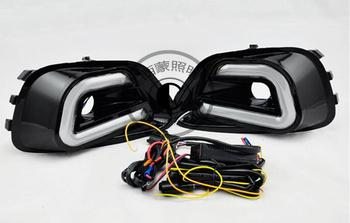 Fog light Daytime Running Light DRL LED Day Light for Jeep Compass 2011 - 2013