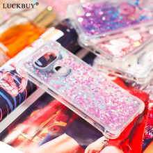LUCKBUY Case Silicone For LG V20 LG V30 Soft TPU Bumper Clear Transparent Liquid Phone Cases For LG V 20 / V 30 Protector Fundas все цены