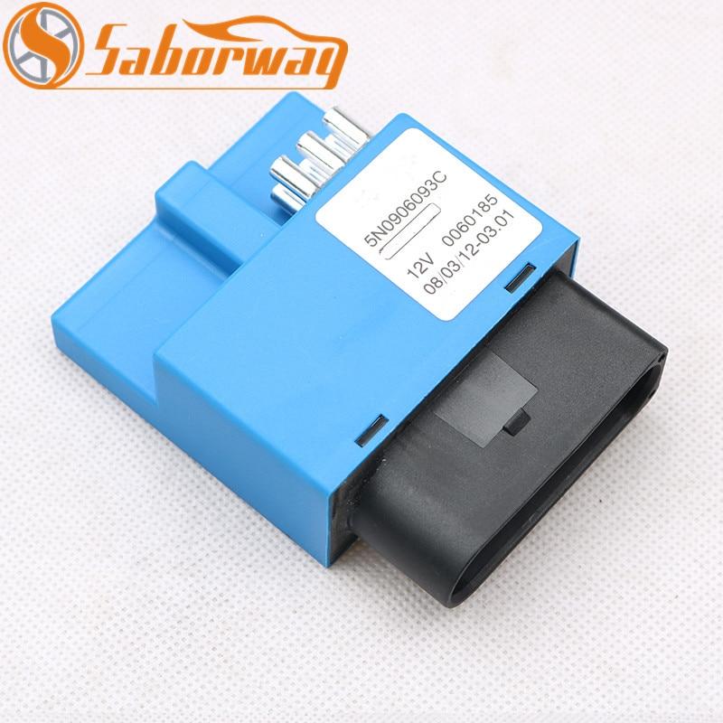 Saborway Blue Fuel Pump Control Module FOR Tiguan Transporter Q3 RSQ3 Fuel Pump Delivery Control Module 5N0906093C 5N0 906 093 C|Fuel Pumps| |  - title=