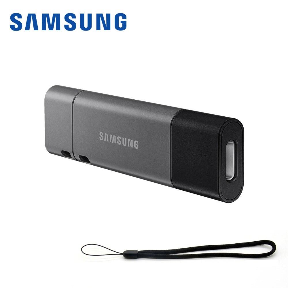 Samsung 3.1 Usb Lecteur Flash USB Type-C Clé Usb 200 m/300 m 64 gb 32 gb 128 gb 256 gb Stylo Lecteur Mini U Disque Bâton Clé Usb pour Téléphone