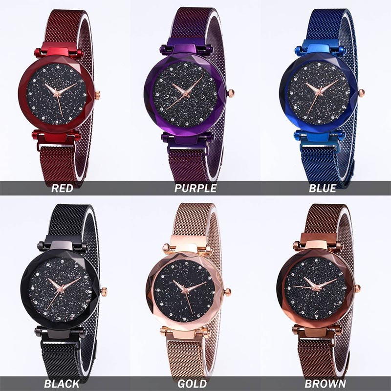 starry-sky-masonry-watch-mesh-magnet-strap-buckle-stainless-luxury-watch-cx17