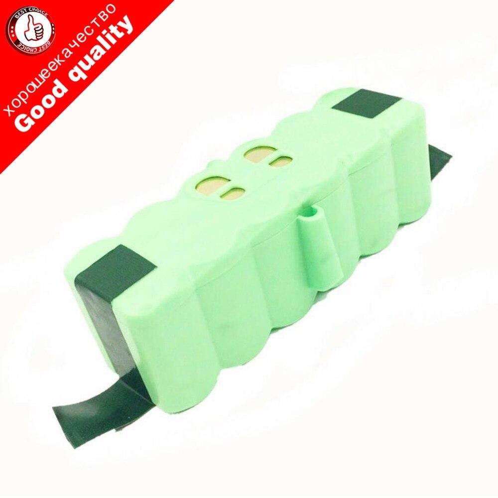5.3Ah 14.8V Li-ion Battery for iRobot Roomba 500 600 700 800 Series 510 531 532 550 585 561 620 630 650 New Version 5300 mAh