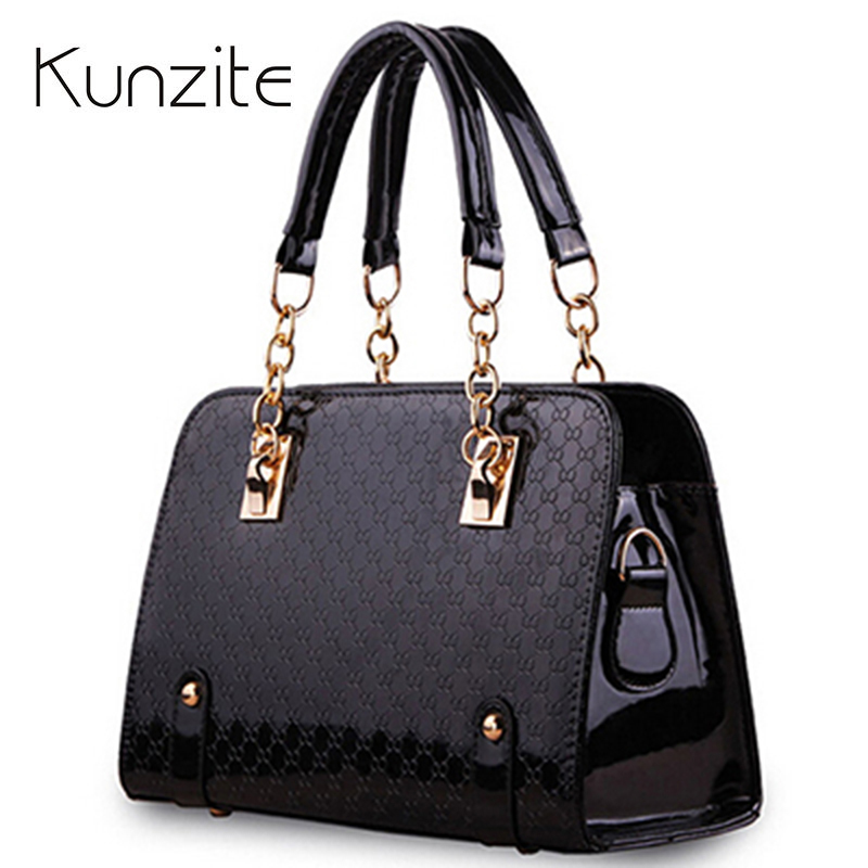 Pochette 2017 Chain Designer Handbags High Quality Sac A Main Femme De Marque Shoulder Bag Famous Brand Hand Bags Bolsos Mujer fashion handbags pochette women bag patent leather bag luxury handbag women bag designer shoulder bag sac a main femme de marque