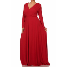 M-5XL !! 2016 Winter New Women Large Size Sexy V-neck long sleeve Loose Sash long party dresses vestidos MD002