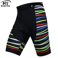 KIDITOKT Leilani Ventilate Cycling Shorts With 3D Anti Slip Padded Gel Bicycle Shorts Culotes Ciclismo Mountain