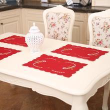 Рождественский тростниковый цветок-колокольчик, подсвечник, коврик для обеденного стола, Декор для дома