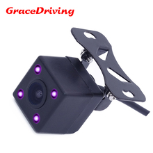 automatic car Backup Camera 170 wide view side car rear view camera with waer-proof +IR+HD CCD adapt for different types car