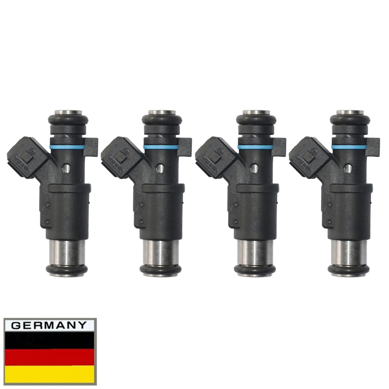 4 pcs For Citroen C2 C3 Peugeot 206 306 307 Fuel Injector 01F002A 0280156357