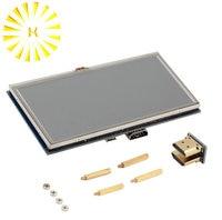7 zoll Raspberry Pi 3 B + Touchscreen 1024*600 Kapazitiven Touchscreen LCD HDMI Interface TFT Display Connector-in Steckverbinder aus Licht & Beleuchtung bei