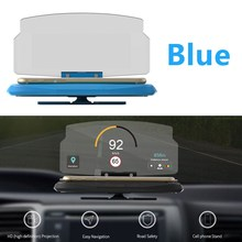 HUD Head Up Display System Mobile GPS Navigation Bracket Car Mobile Phone Mount Stand For 6.5″ Smart Phone Wholesale