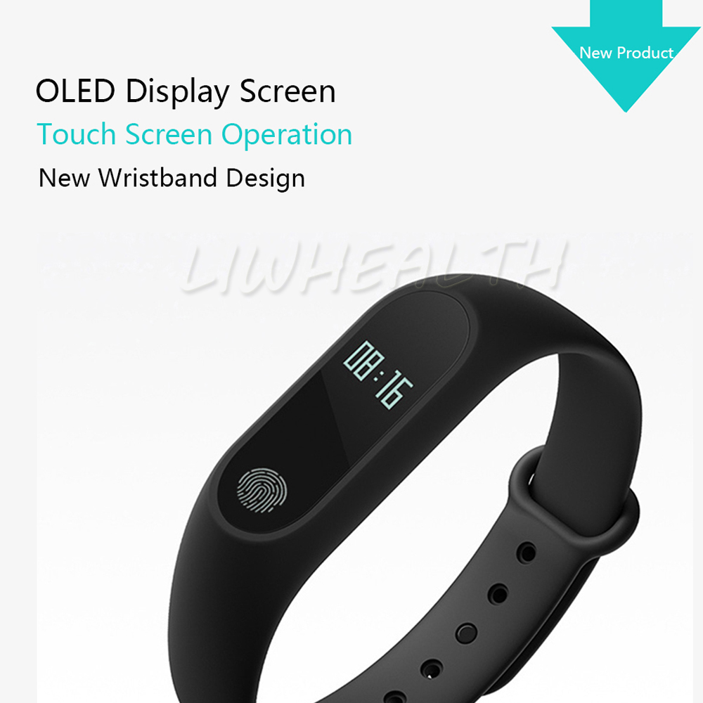 Cheap L2 Smart Fitness Bracelet Heart Rate Monitor Watch Clock Pedometer Activity Tracker For IOS/Xiaomi/Honor PK Mi Band 2/3/4 14