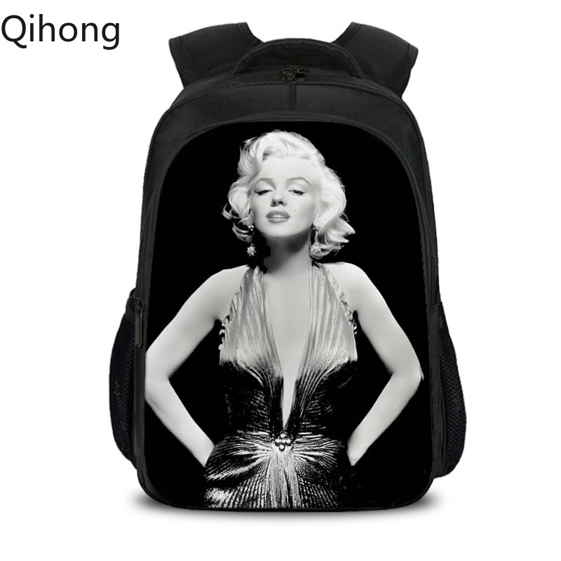 David Michelangelo Statue Bubble Gum Backpack for Teenager Girls School Bags Marilyn Monroe Laptop Bagpack Women Men Rucksack 19 image