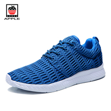 Apple 2017 men's olympic london running shoes Hot sale summer big mesh breathable sport shoes Ultra light popular sneakers 1422