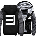 Free Shipping USA size Men Women hip-hop Eminem Zipper Jacket Sweatshirts Thicken Winter Hoodie Coat Clothing Casual