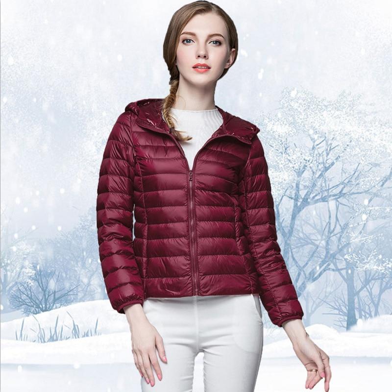 2019 Autumn Women's Coat Warm Stripe Design Short Girl Jacket Hot Sale New Product Discount High Quality Hat