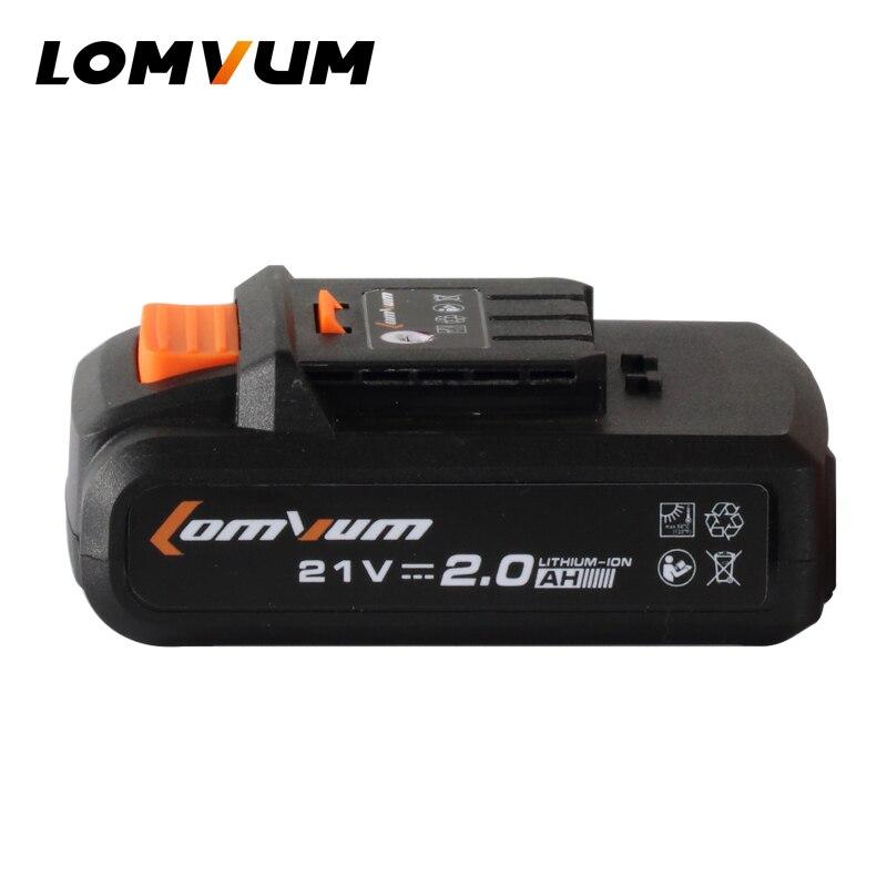 LOMVUM Elettrico Dill Batteria Supplementare Ricaricabile Batterie Trapano Avvitatore a batteria di Alimentazione