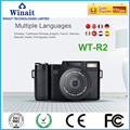 "24MP Telescopic Digital Camera WT-R2 1080P 15fps 3.0""TFT LCD Screen 8.0M CMOS Sensor High quality DSLR Camera"