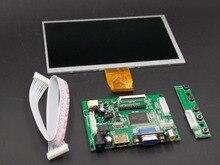 El envío gratuito! 7 pulgadas Raspberry Pi 3 TN LCD Con HDMI VGA AV Plátano Pi Pcduino Módulo de Visualización de la Pantalla 800×480