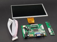 Free Shipping 7 Inch Raspberry Pi 3 TN LCD With HDMI VGA AV Screen Display Module