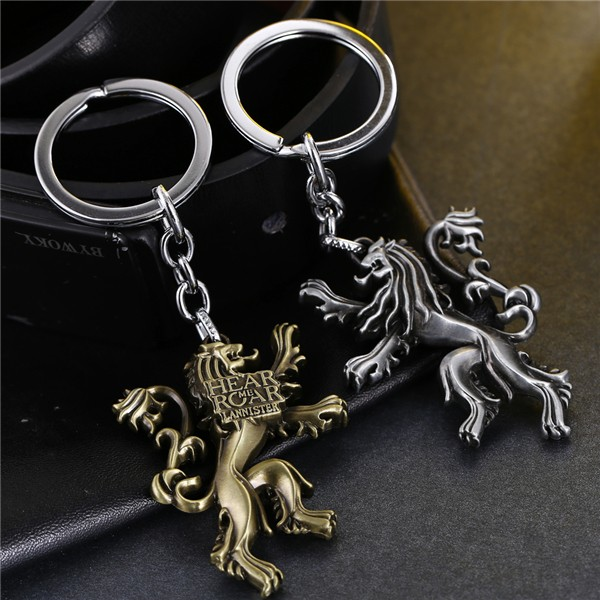 Game of Thrones Three Colours Keychain