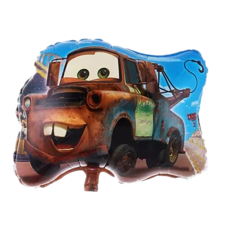 xxpwj free shipping cars balloonshelium baloon cartoon car story ballons weddingbirthday decoration kids toy
