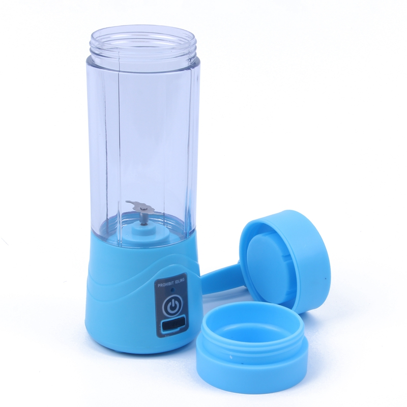 380 ml Recarregável USB Misturador Liquidificador Smoothie Maker para Uso Doméstico Portátil Mini Juicer Máquina de Suco Extrator De Suco De Pequenas New Gota 2