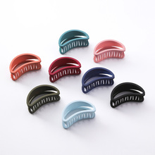 LNRRABC Korean Bohemian seaside vintage hairpin frosted candy color hair jewelry girl grabs bath outdoor hollow gifts