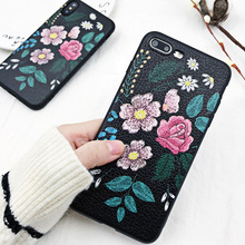 LOVECOM Retro Flower Phone Case For iPhone XS XR XS Max X 6