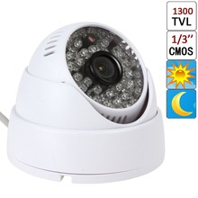 NEW 2016 1/3″ CMOS 1300TVL 48 IR LEDs 3.6mm CCTV Video Surveillance Dome Outdoor Night Security Camera