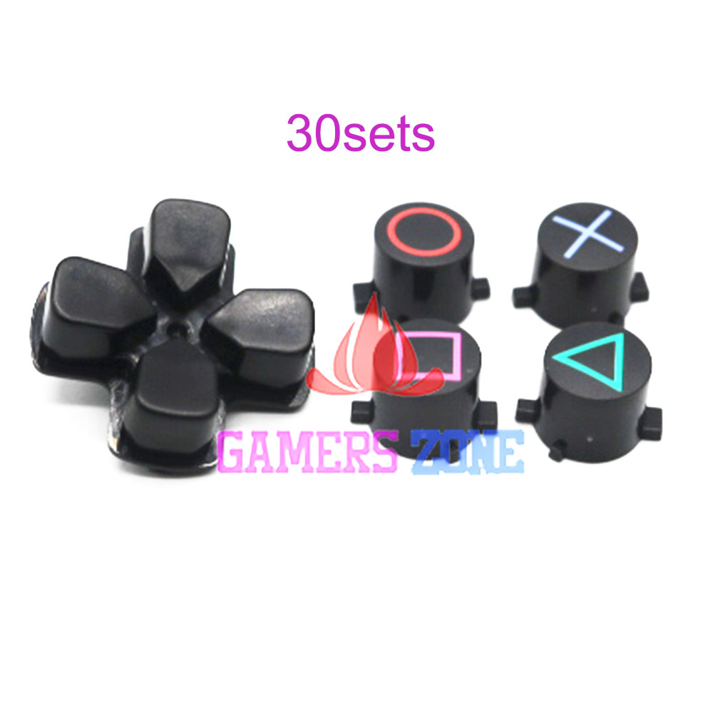 Playstation x button what do the triangle circle x and square 30sets for sony playstation 4 ps4 controller d pad circle square triangle x button set biocorpaavc Images