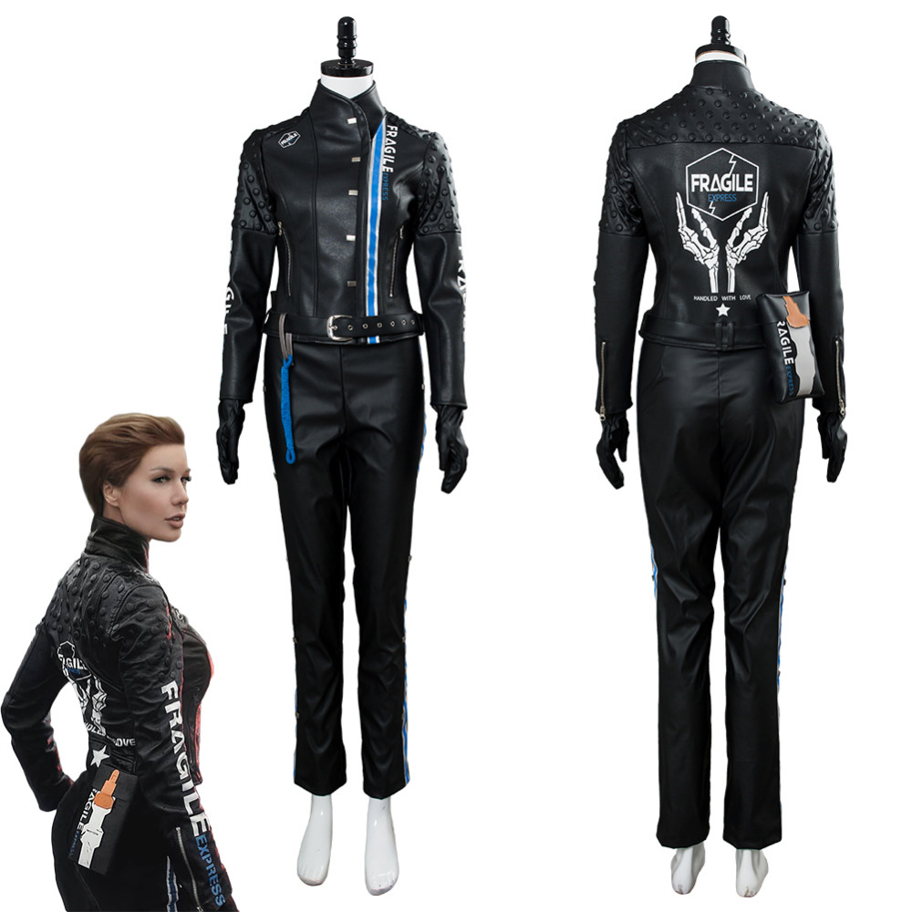 Death Stranding Lea Seydoux Cosplay Costume Full Sets Suit Halloween Carnival Costume For Adult Women Custom Made