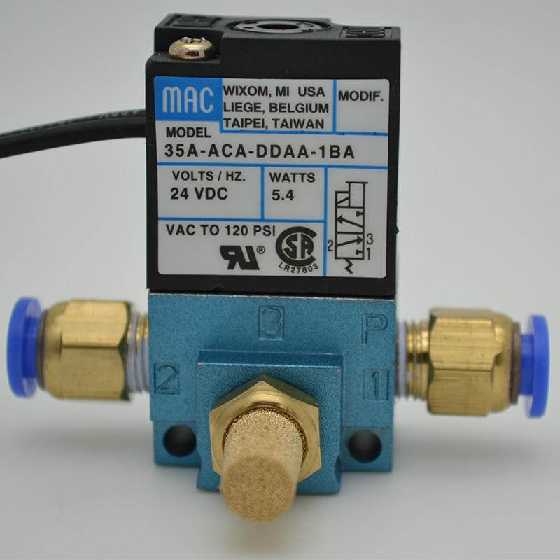 3 Port Electronic Boost Control Solenoid Valve 35A-ACA-DDBA-1BA 35A-ACA-DDFA-1BA 35A-ACA-DDAA-1BA With Brass