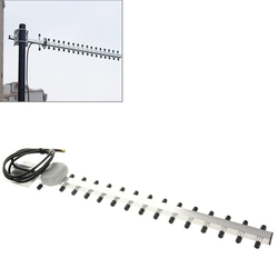 High Gain 28dBi SMA Plug 4G 696-960MHz / 1710-2690MHz Yagi Antenna