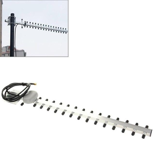 Yüksek Kazanç 28dBi SMA Fiş 4G 696-960 MHz/1710-2690 MHz Yagi Anten SMA Erkek fiş