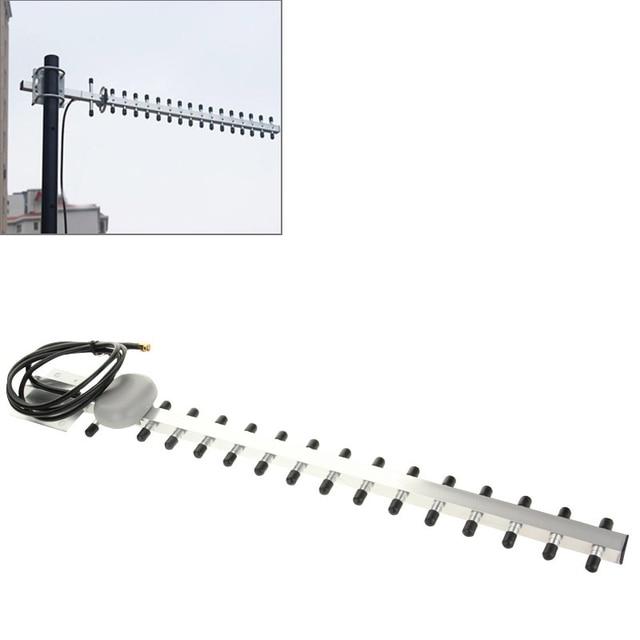 Yüksek kazanç 28dBi SMA fiş 4G 696 960MHz / 1710 2690MHz Yagi anten SMA erkek fiş